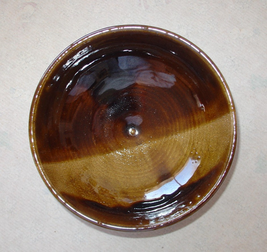 brown stripe bowl
