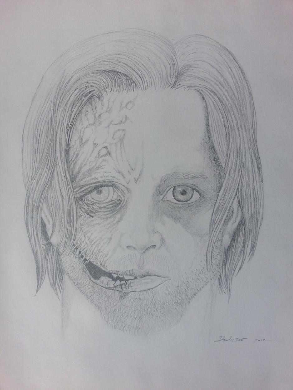 Half Zombie Half Girl