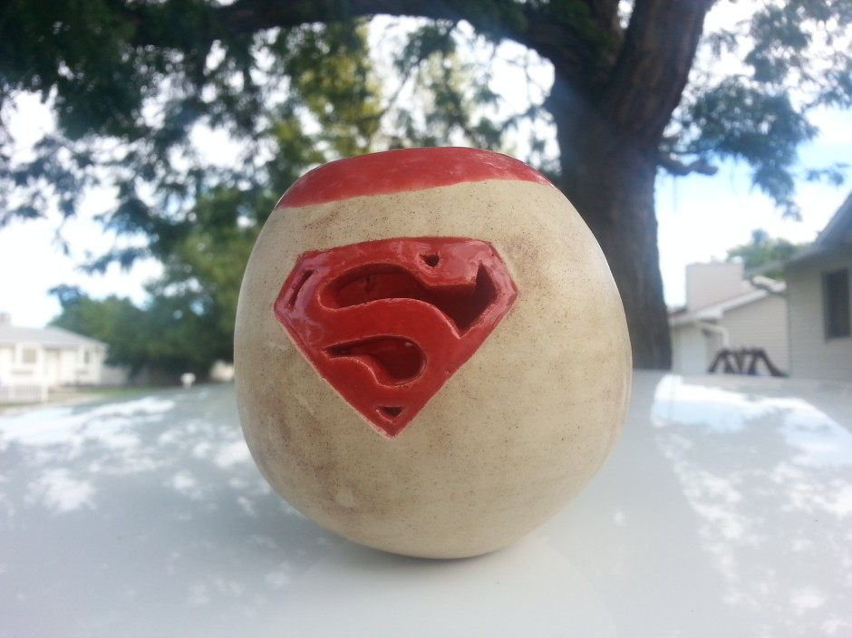 Superman Logo Sphere