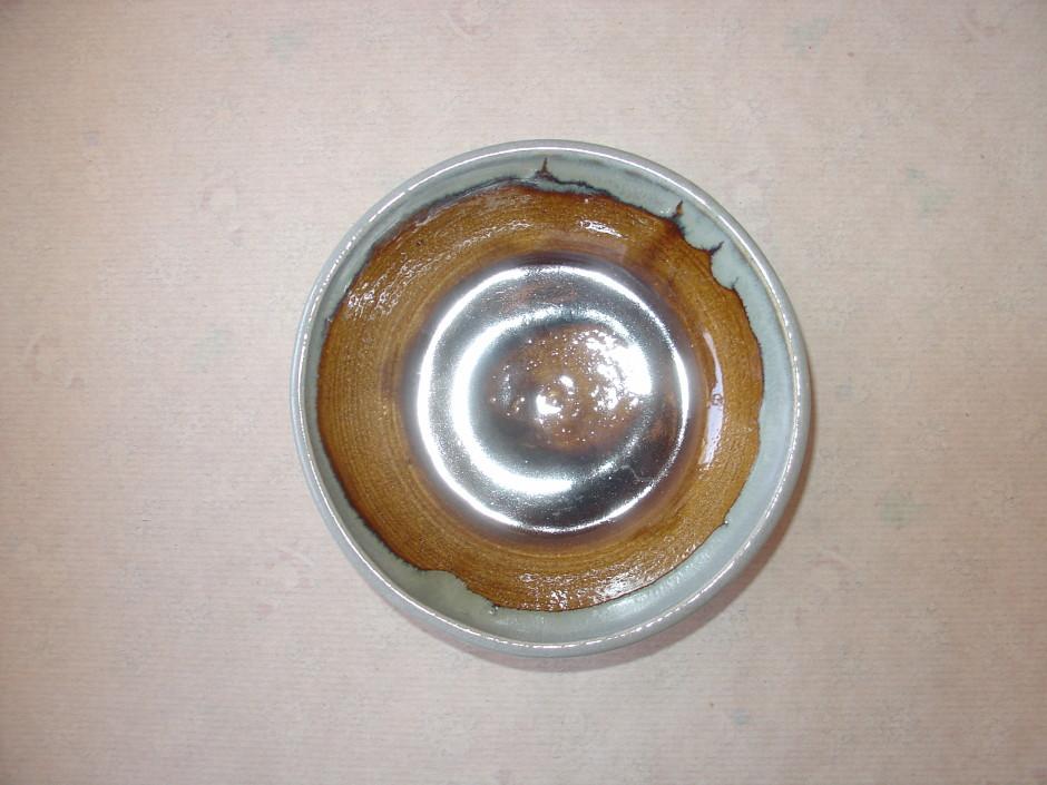 Tan Teal Bowl