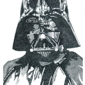 Darth Vader Stippling watermark