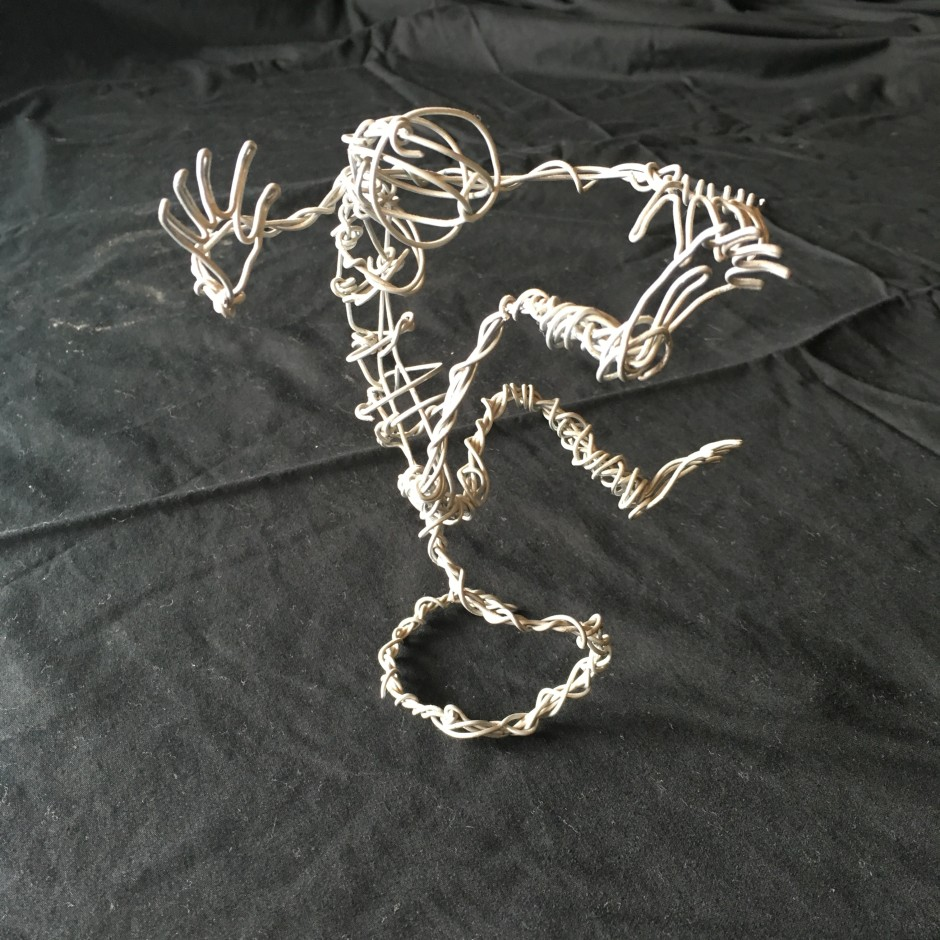 dancing wire dude