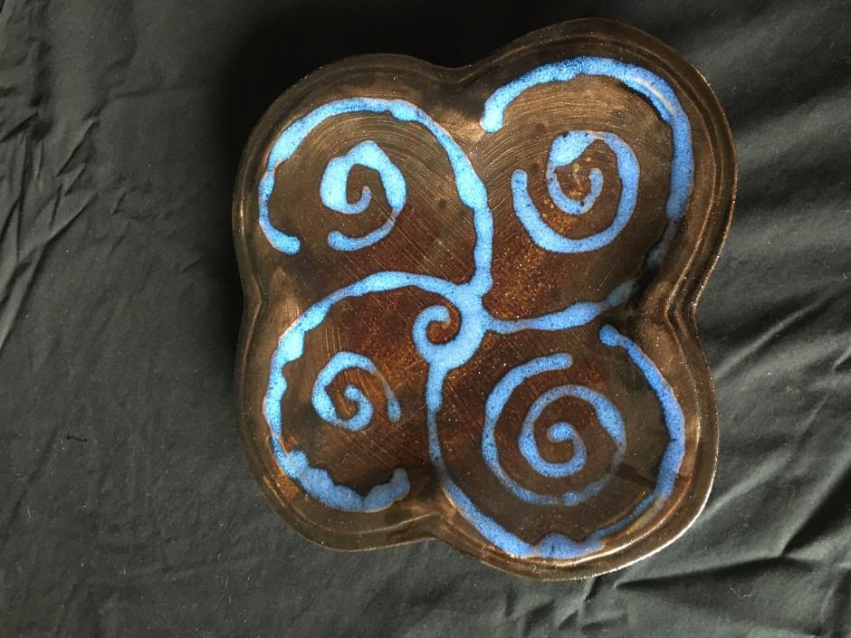 swirly plate