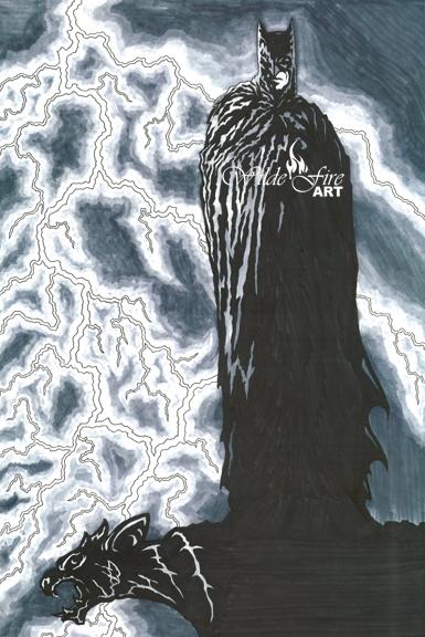 Batman Lightning watermark