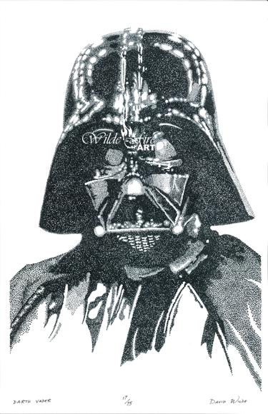 Darth Vader Stippling watermark